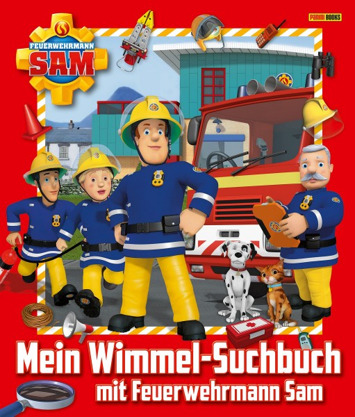 Mein Wimmel-Suchbuch mit Feuerwehrmann Sam