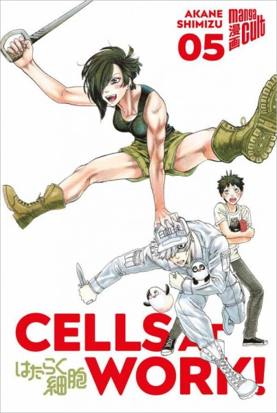 Cells at Work! 5 Cover