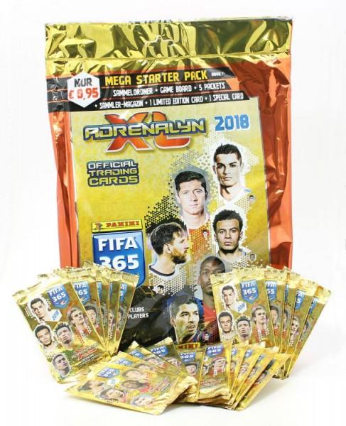 Panini FIFA 365 2018 Adrenalyn XL Trading Cards - Bundle 2