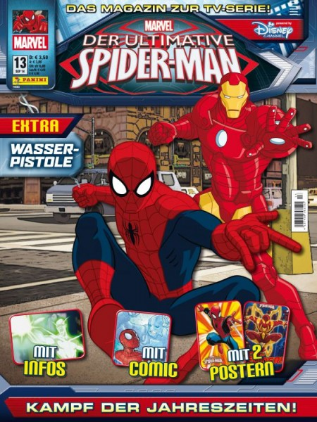 Der ultimative Spider-Man - Magazin 13