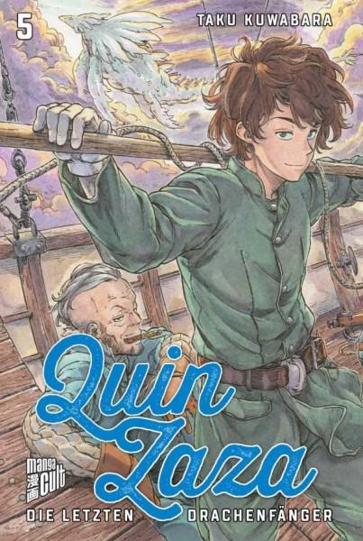 Quin Zaza: Die letzten Drachenfänger 5 Cover