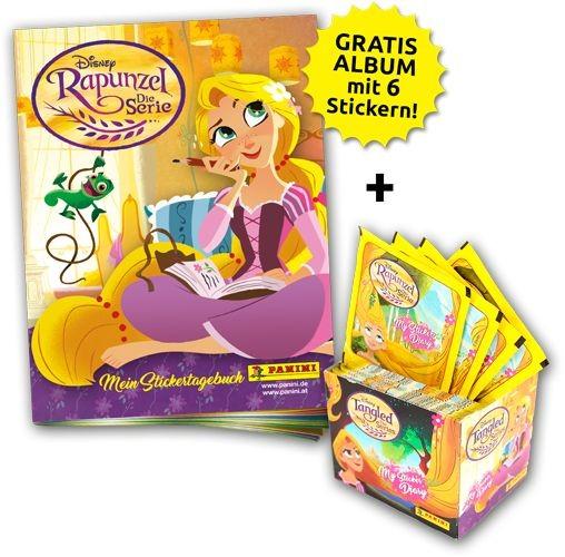 Disney: Rapunzel - Stickerkollektion - Sticker-Starter-Bundle