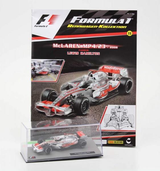 Formula 1 Rennwagen-Kollektion 11: Lewis Hamilton (McLaren MP 4-23)