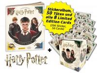 Harry Potter- Sticker und Cards - Hogwarts-Bundle Inhalt