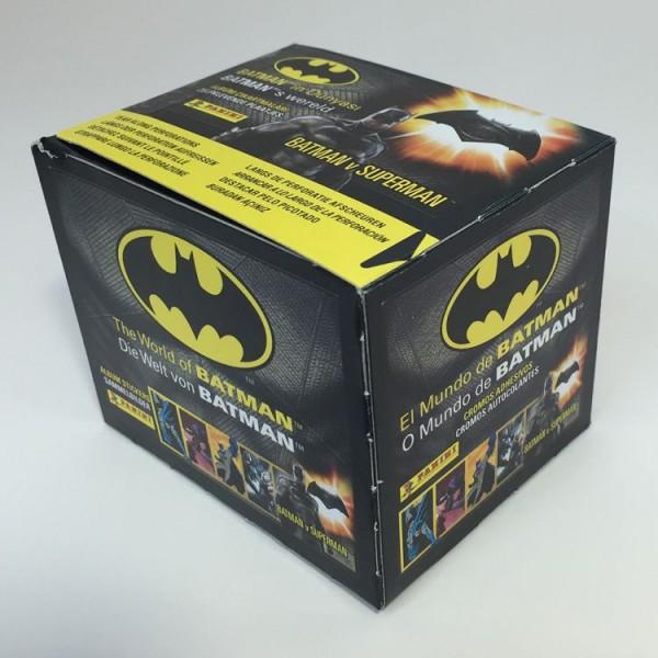 Die Welt von Batman Stickerkollektion - Box mit 35 Tüten