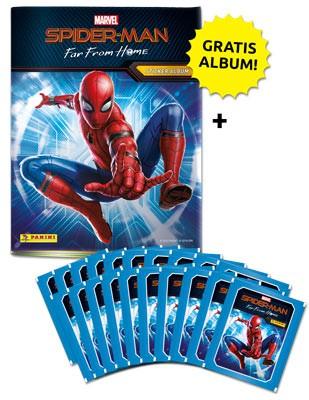 Spider-Man: Far From Home – Sticker und Cards – Sammelbundle