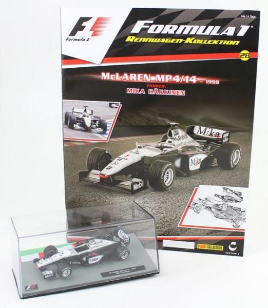 Formula 1 Rennwagen-Kollektion 28: Mika Hakkinen (Mclaren 4/14)