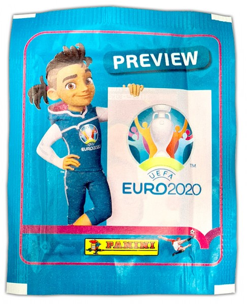 UEFA EURO 2020™ Stickerkollektion - Official Preview Collection - Tüte