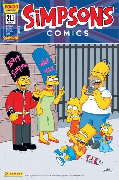 Simpsons Comics 211