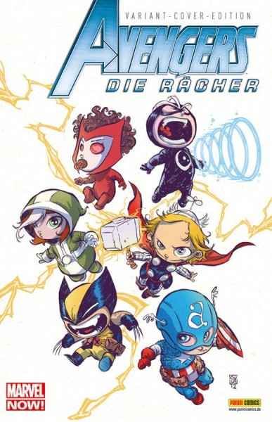 Avengers: Die Rächer 7 - Marvel-Baby Comic Action 2013 Variant