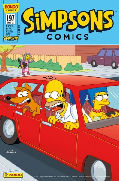 Simpsons Comics 197