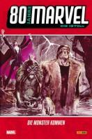 80 Jahre Marvel: Die 1970er – Die Monster kommen Cover