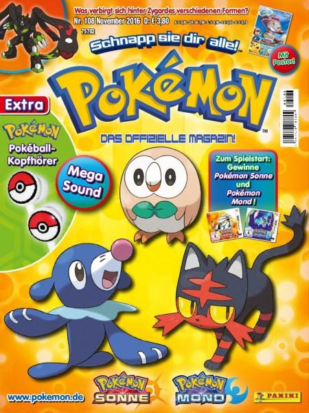 Pokémon Magazin 108