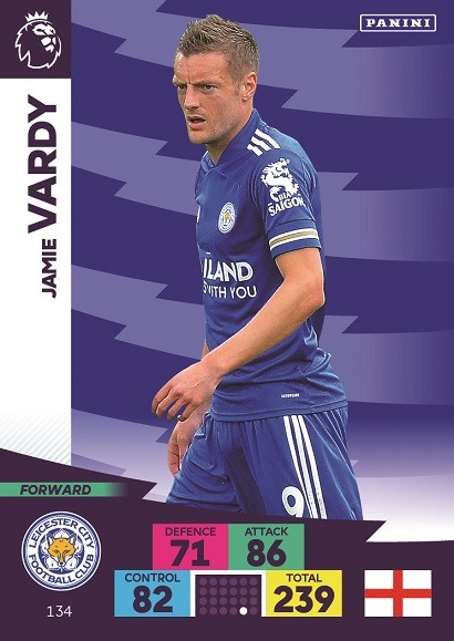 Panini Premier League Adrenalyn XL 2020/21 - Jamie Vardy