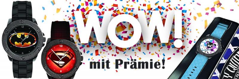 Wow! Mit Prämie! Banner