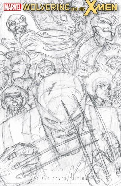Wolverine und die X-Men 4 Sonderband 4 Variant - Comic Action 2014