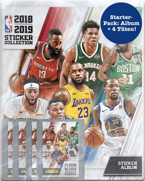 NBA 2018-2019 Stickerkollektion - Starter-Pack