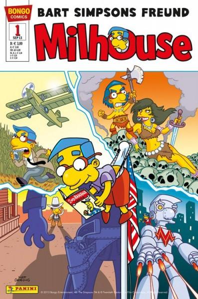 Simpsons Comics präsentiert: Milhouse 1
