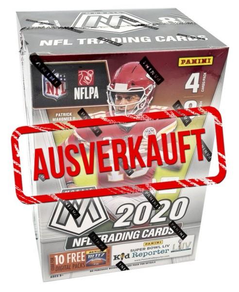 NFL 2020 Mosaic Trading Cards - Blasterbox - ausverkauft