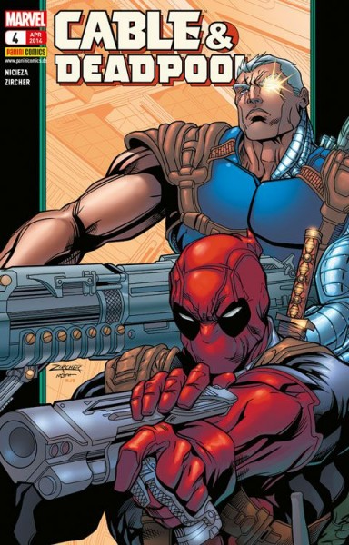 Cable & Deadpool 4