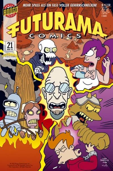 Futurama Comics 21