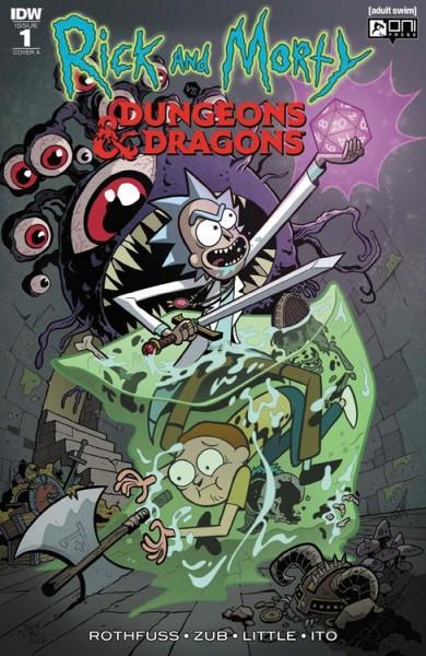 Rick and Morty vs. Dungeons & Dragons - Kapitel 1