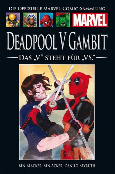 """Hachette Marvel Coll. 185: Deadpool V Gambit: Das """"V"""" steht für """"VS"""" Cover"""