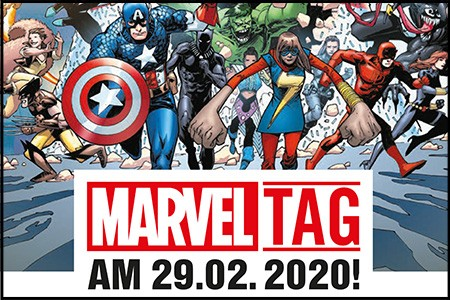 Marvel Tag am 29.02.2020