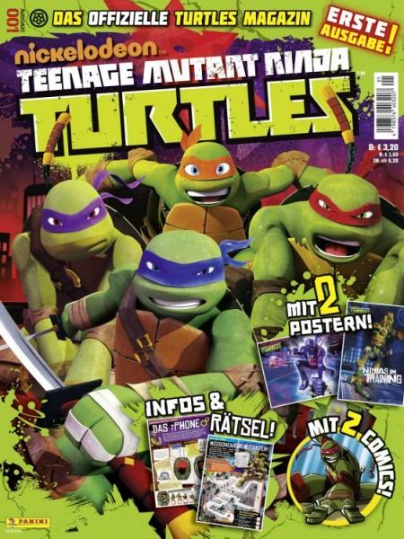 Teenage Mutant Ninja Turtles - Magazin 1
