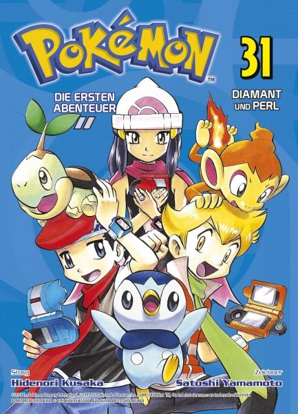 Pokemon - Die ersten Abenteuer 31 - Diamant und Perl