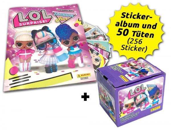 L.O.L. Surprise! Fashion Fun! Stickerkollektion - Box-Bundle