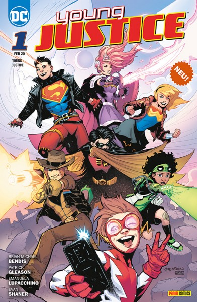 Young Justice 1 - Sieben Krisen