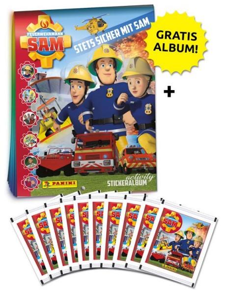 Feuerwehrmann Sam Stickerkollektion – Schnupperbundle