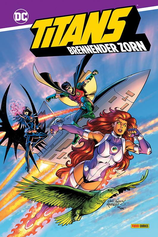 Titans: Brennender Zorn Hardcover