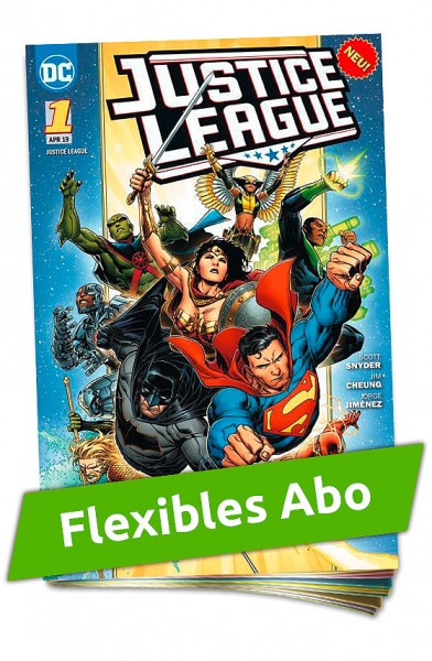 Flexibles Abo - Justice League Heft