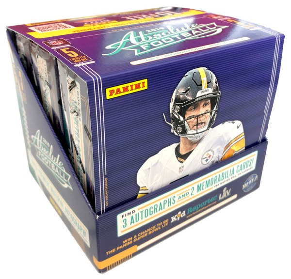 NFL 2019 Absolute Football Trading Cards - Hobbybox