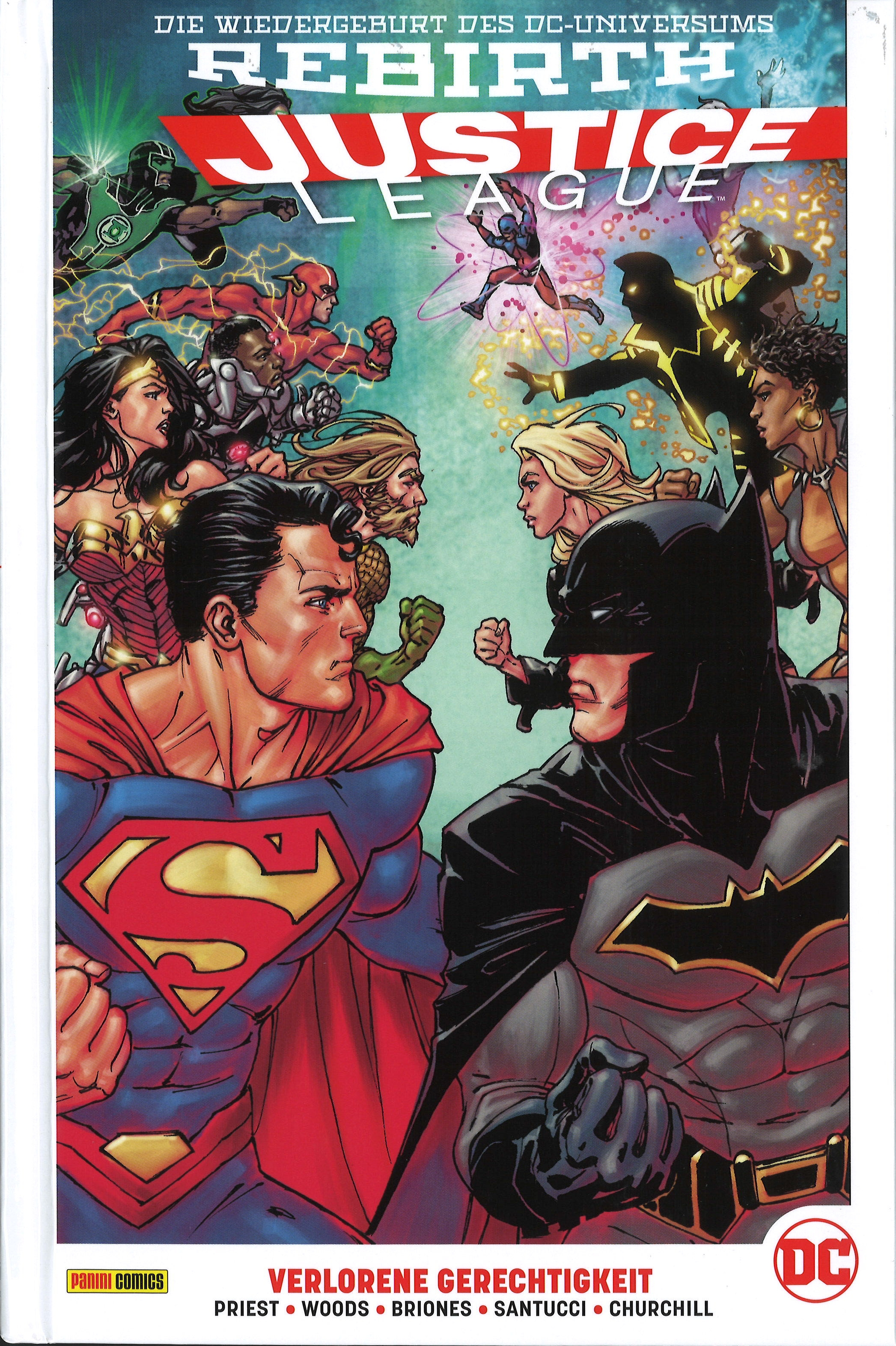 Justice League Paperback 6 Hardcover