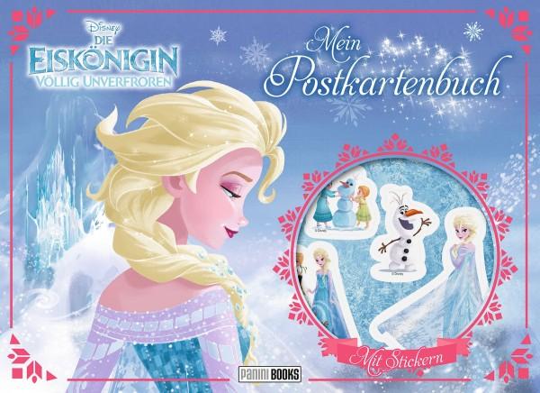 Disney: Die Eiskönigin - Mein Postkartenmalbuch