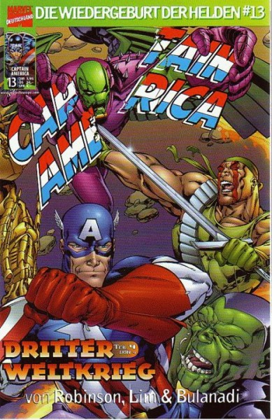 Captain America: Die Wiedergeburt der Helden 13