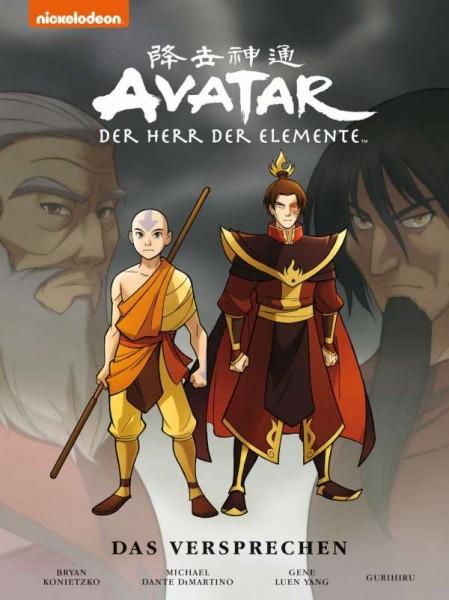 Avatar: Herr der Elemente Sammelband 1 - Das Versprechen Cover