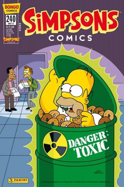 Simpsons Comics 240