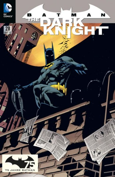 Batman: The Dark Knight 28 Variant - Comic Action 2014