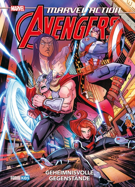 Marvel Action: Avengers 2 Cover