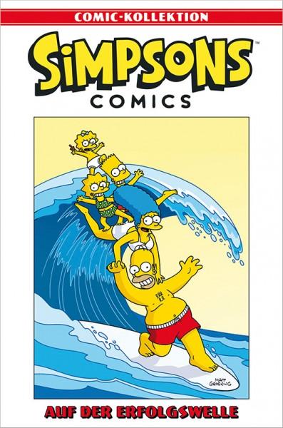 Simpsons Comic-Kollektion 61: Auf der Erfolgswelle Cover