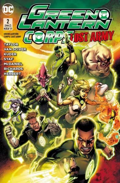 Green Lantern - Lost Army 2