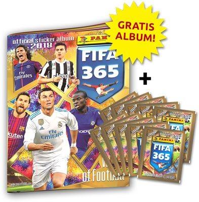 Panini FIFA 365 2018 Stickerkollektion - Bundle 4