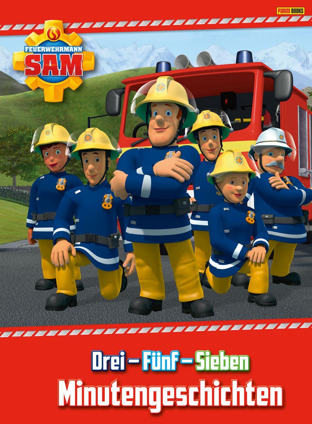 Sammelsticker Nr  93 Panini Feuerwehrmann Sam