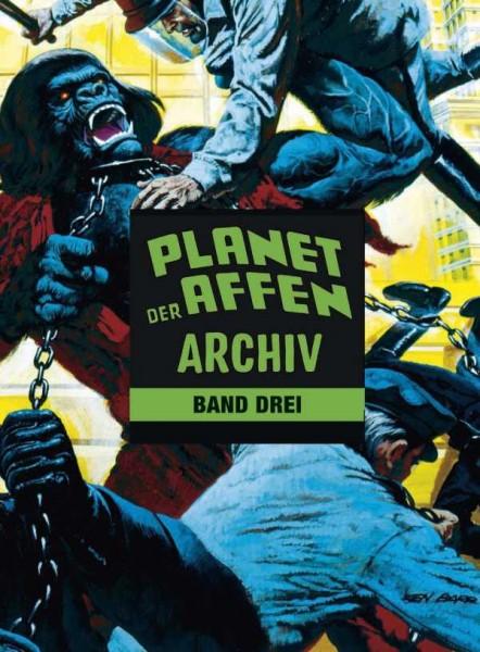 Planet der Affen Archiv 3 Cover