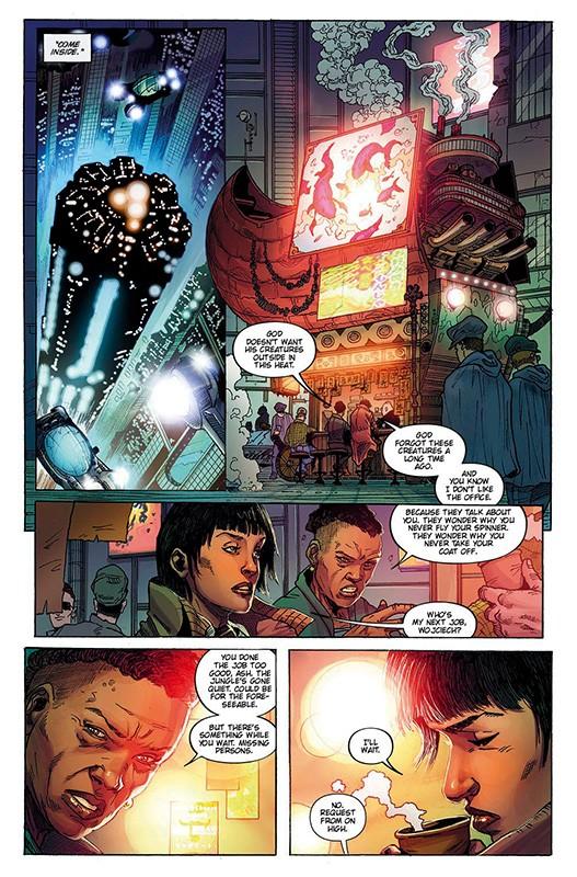 Blade Runner 2019 Blick in den Comic