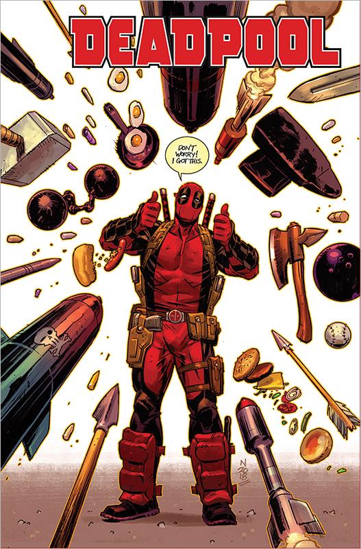 Deadpool Paperback 3 Hardcover
